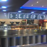 Very clean and modern Fish&Chips takeaway