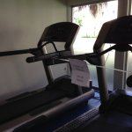 Need safes treadmill to walk and update. More fans, more TVs , more weights