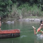 Embera children at play