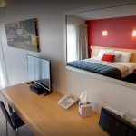 All units include a desk, free Wifi, and Sky TV with 52 channels
