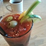 Bloody Mary for my vacation brunch!