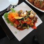 Siam Pagoda - Pad Prew Wann (Sweet & Sour Beef)