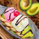 "New Dessert "" Avocado Split"""
