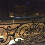Balacony overlooking the street
