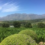 Boland Mountain range view