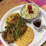 Gluten Free Chicken and Waffles