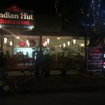 At Indian Hut restaurant Bagan