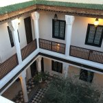 Inside of riad (view from rooftop)