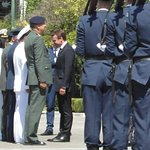 Monsieur Macron visit to the Tomb of the Unknown soldier