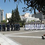 France and Greece celebrate at the Tomb of the Unknown soldier