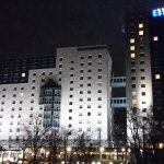 Nächtliche Hotelbeleuchtung