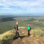 hike with Bismark