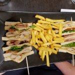 Triple Decker Club Sandwich (minus the egg).