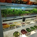 Extensive Salad counter (another view)