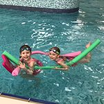 Happy times in the pool