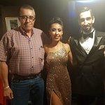 Con los bailarines