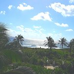 Caribbean from the rooftop terrace