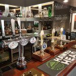 our beers and hand pull ales