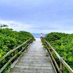 Jurere Internacional bajada a la playa en Parador 12