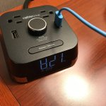 Clock with outlets and USB