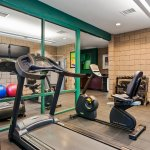 Our fitness center is open 24/7