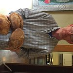 Mark's freshly baked bread--yum!