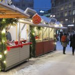 Small stalls at Tampere