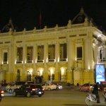 Hanoi Opera House by night