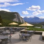 The Lookout Patio, Fairmont Banff Springs