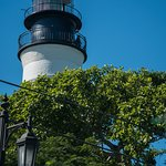 Key West lighthouse - available to climb for a great view.