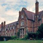 Rear of one of the boarding houses- School Field