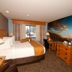 Relax in our comfortable King rooms and enjoy views of the Bridger mountains!