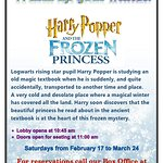 Harry Popper and The Frozen Princess Matinee Show.