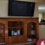 TV in Breakfast area