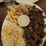 Shawarma Plate (Lamb)