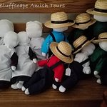 Amish-made dolls can be found in a few of the Amish shops.