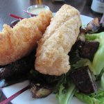 Fish of the day- Cod fish and organic salad
