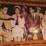 Bangkok Garden - this mural-sized photo was a delightful surprise for Elvis lovers!