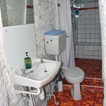 Baron's bathroom - former holding cell