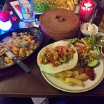 Fajita with meat