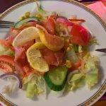 Salmon salat