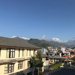 The Balcony offers a brilliant view of the town and mountains !!