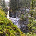 Maligne River Canyon