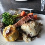 Karouszo's Steaks roast beef dinner