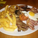 Beefeater Mixed Grill - Steak cooked to perfection