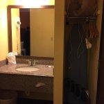Sink area/closet