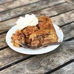 Best Dutch apple pie from Winkel.