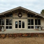 This is the Welcome Center building.