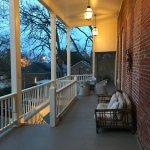 Back porch.