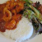 My delicious prawn dish